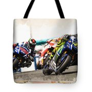 Rossi Leading The Pack Tote Bag
