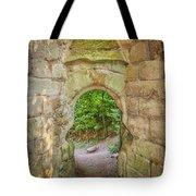 Rosslyn Castle Forest Entry Tote Bag
