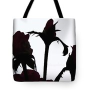 Rosy Chocolate Fireworks Tote Bag