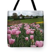 Rosy Field Tote Bag