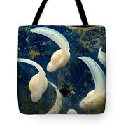 Rosy Ground Frog Eggs Tote Bag