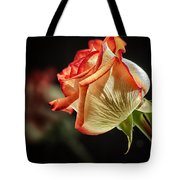 Rosy Red Reflections Tote Bag
