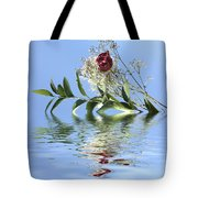 Rosy Reflection  Tote Bag