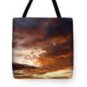 Rosy Sky Tote Bag