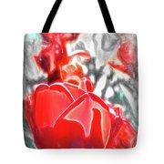 Rosy Swirl Tote Bag