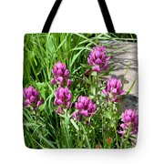 Rosy Wildflowers Tote Bag