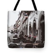 Rothenburg Cafe - Digital Tote Bag