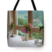 Rothenburg Dining With A View Tote Bag