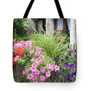 Rothenburg Flower Box Tote Bag
