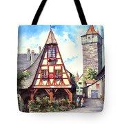 Rothenburg Memories Tote Bag