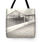 Rotherham - Millmoor - Millmoor Lane Stand 1 - Bw - April 1970 Tote Bag
