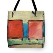 Rothko Meets Hitchcock Tote Bag