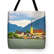 Rottach Egern On Tegernsee Architecture And Nature View Tote Bag