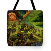 Rotten Souls Taint The Land Tote Bag