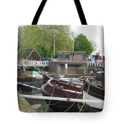 Rotterdam Silence By The Docks Tote Bag