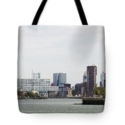 Rotterdam Skyline With Euromast  Tote Bag