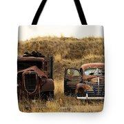 Rotting Jalopies Tote Bag