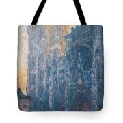 Rouen Cathedral, The Portal, Morning Tote Bag