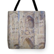 Rouen Cathedral, The Portal, Sunlight Tote Bag