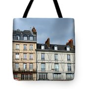 Rouen Half Timbered 24 Tote Bag