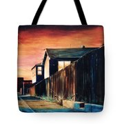 Rouge Alley Tote Bag