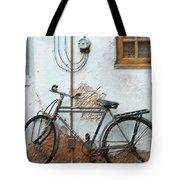 Rough Bike Tote Bag