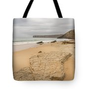 Rough But Golden At The End Of The World Tote Bag