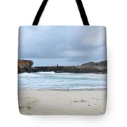 Rough Churning Waters Off The Coast Of Aruba Tote Bag