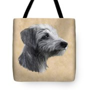 Rough Coated Lurcher  Tote Bag