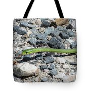 Rough Green Snake Tote Bag