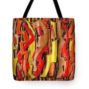Rough Lumber Tote Bag