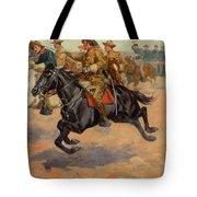 Rough Riders Cavalry Tote Bag