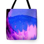 Rough Seas In Dominica Tote Bag
