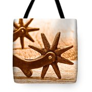 Rough Spurs - Sepia Tote Bag