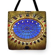 Round And Glossy Tote Bag