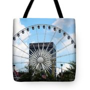 Round And Round Tote Bag