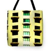 Round Balconies Tote Bag