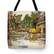 Round Bridge Tote Bag