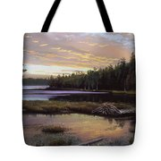 Round Pond Tote Bag