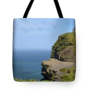 Round Stone Tower Refferred To As O'brien's Tower In Ireland Tote Bag