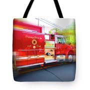 Round Top Vol. Fire Co. Inc. New York 7 Tote Bag