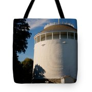 Round Water Tank In The Sun Tote Bag