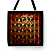 Rounded Abstract Tote Bag