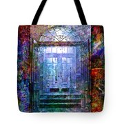 Rounded Doors Tote Bag by Barbara Berney
