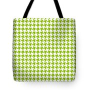 Rounded Houndstooth White Background 18-p0123 Tote Bag