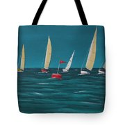 Rounding The Marker Tote Bag