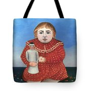 Rousseau: Child/doll, C1906 Tote Bag