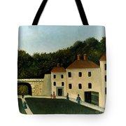 Rousseau:promenaders,c1907 Tote Bag