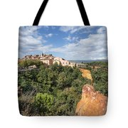 Roussilon Provence  Tote Bag by Juergen Held