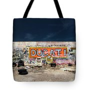 Route 66-75 Tote Bag